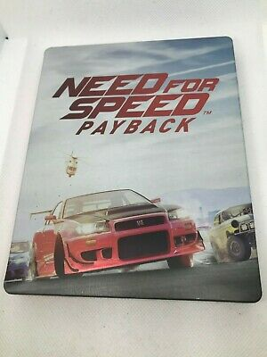 Need For Speed Payback Steelbook Case Ps4 No Game Disc Used