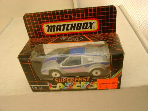 MATCHBOX LASER WHEELS LW-17 LAMBORGHINI COUNTACH NEW IN BOX