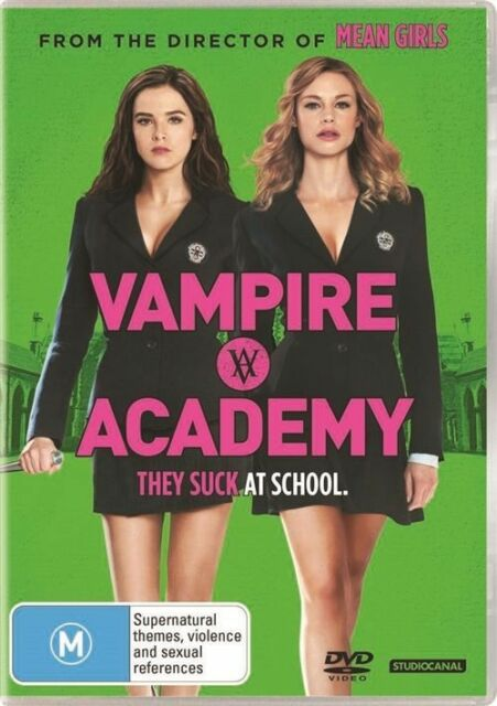 Vampire Academy (Dvd) Action, Comedy, Fantasy, Zoey Deutch, Lucy Fry