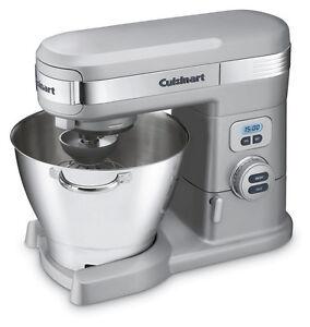 Cuisinart SM-55BC 5-1/2-Quart 12-Speed Stand Mixer, Brushed Chrome