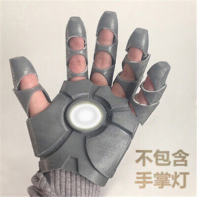 Avengers 4 Iron Man Gloves Palms Shining Glove Cosplay Props Toys Halloween New