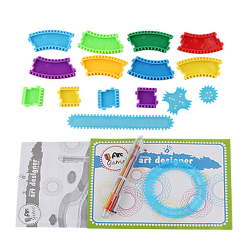 Spirograph Geometric Drawings Templates Stencils Plastic Template Rulers