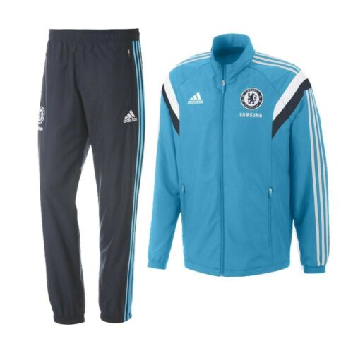 FW15 CHELSEA ADIDAS 8 YEARS RACING SUIT CHILD OFFIZIELL JUNIOR TRACKSUIT