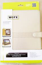 """Werx Universal Tablet eReader Case Stand Gold for Display up to 10.1"""" (GWA 8)"""