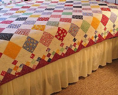 Baby Quilt Patterns.Diamond Patch Baby Quilt Pattern New 9 Patch Easy Fast Scrappy