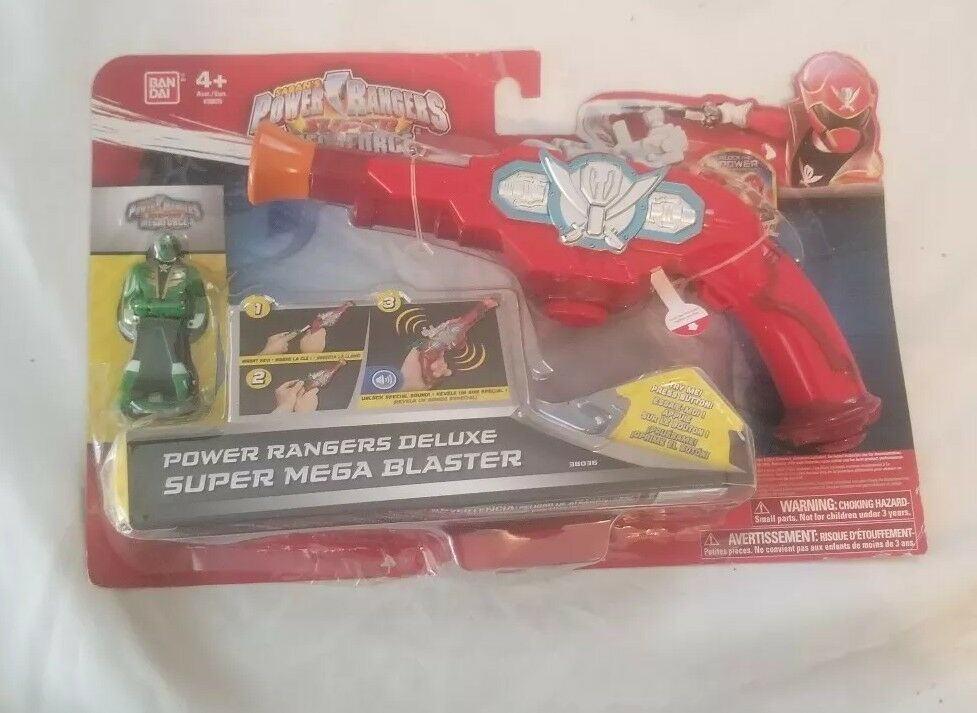 Power Rangers Deluxe Super Mega Blaster