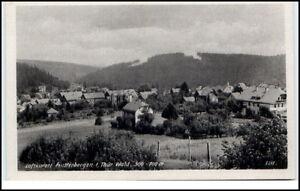 Finsterbergen-Thueringen-DDR-Postkarte-1950-60-Gesamtansicht-ungelaufen