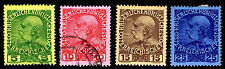 1908 AUSTRIA OFFICES IN CRETE #15-18 - USED & NEW - VF - $18.65 (E#2246)