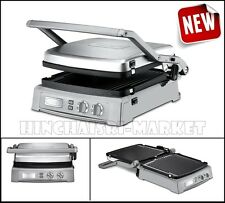 Griddler Deluxe Stainless Grilling Cookware Small Kitchen Appliances Griddles
