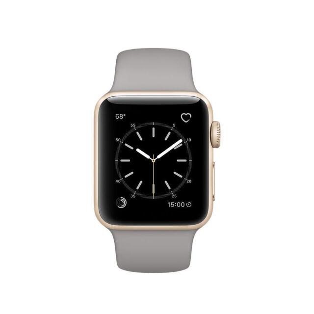 Apple Watch Series 2 38mm Aluminum Case Concrete Sport Band Mnp22ll A For Sale Online Ebay