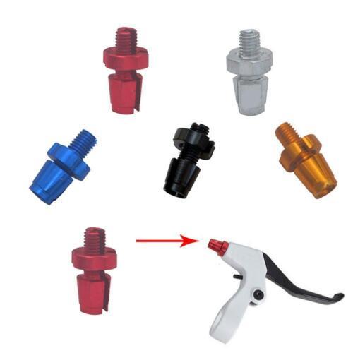 1* Screw Bicycle Adjusting Bike Brake Cable Adjuster Screws UK 7mm C D2V6 R J0W3