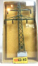 Brawa 2658 Hochspannungsmasten Strommast H0 Spur N Leitungen Faller 659 NEU OVP