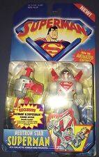 Superman Animated Series Neutron Star Superman in Package