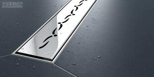 Edelstahl Duschrinnen Ablaufrinnen Bodenablauf Duschrinne Duschablauf befliesbar