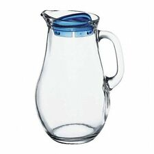 Pasabahce 61 oz Glass Jug, Pitcher with Handle, Juice Water Old-Fashioned Carafe