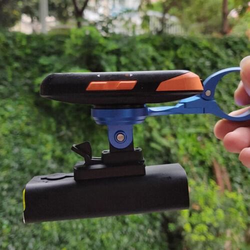 Details about  /Bike Light Holder Adapter Bicycle Flashlight Mount Front Lamp Bracket New