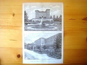 Il-Castello-d-039-Aglie-Torino-Il-Castello-Il-Parco-dietro-il-Castello