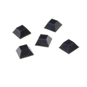 20X-set-Selbstklebende-Gummifuesse-Stossfaenger-Nicht-Schlupf-Tuer-Moebel-Puffer-PadWR