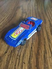 MATCHBOX SUPERFAST 1979 CHEVROLET CORVETTE BLUE #40