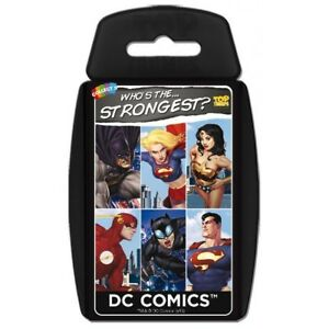 Top-Trumps-DC-Comics-Who-039-s-The-Strongest