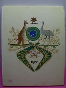 FIRST-WORLD-BOWLS-CHAMPIONSHIP-AUSTRALIA-1966-BOOK
