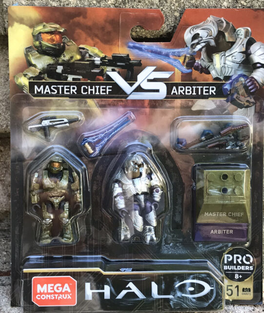 MEGA CONSTRUX Pro Builders 8+ FINAL SHOWDOWN: HALO - Master Chief vs Arbiter