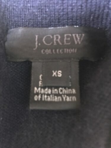 100 Femme Crew marine Cachemire Marinière J Bleu Cardigan Collection Collection O5UwqdwB