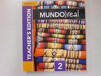 Mundo Real Spanish 2 Teacher's Edition Cambridge 2014 1107650771