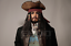 thumbnail 2 - Life Size Jack Sparrow BUST Statue Johnny Depp Prop Pirates Movie Style 1:1