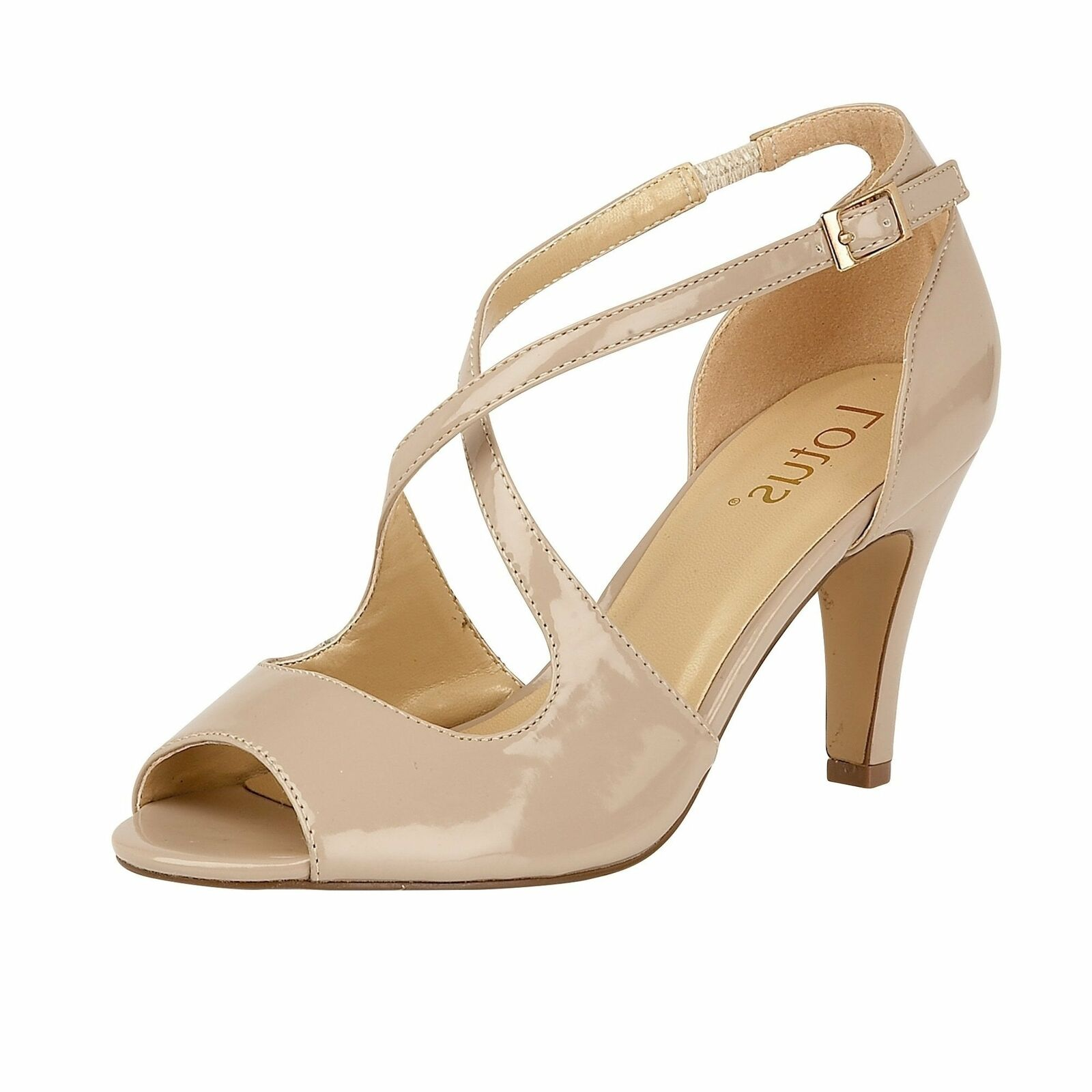 Lotus schuhe Rosalie Nude Patent Court schuhe Lotus a853f9