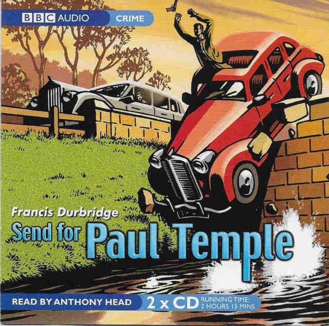 Francis Durbridge SEND FOR PAUL TEMPLE CD Audio Book Abridged