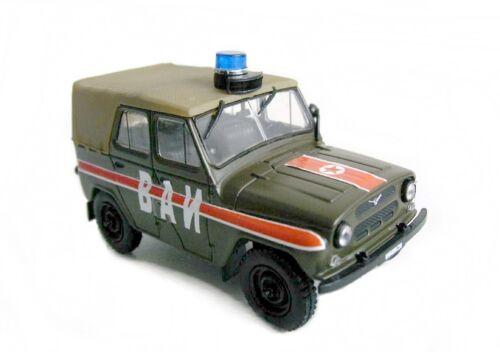 MILITAIRE RARE  UAZ 469 URSS 1//43