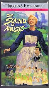 Details about THE SOUND OF MUSIC - 1965 MOVIE w/ JULIE ANDREWS (1991 VHS 2  TAPE BOXED SET)