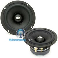 Es-4 Cdt Audio 4 Midrange 4 Ohm Car Drivers Speakers Mids Es 4 Pair on sale