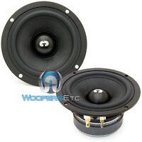 Es-4 Cdt Audio 4 Midrange 4 Ohm Car Drivers Speakers Mids Es 4 Pair on Sale