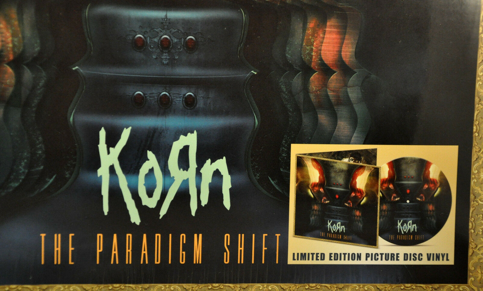 Korn The Paradigm Shift Vinyl 2x LP Picture Disc RSD Black Friday