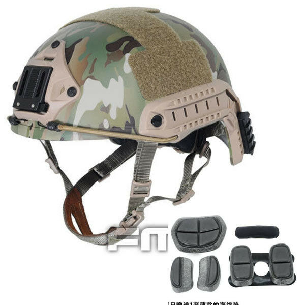 FMA TB460 Tactical FAST Helmet Multicam M L L XL OPS-CORE Paintball Airsoft