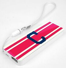 Mizco MLB Cleveland Indians 3k Slim Power Bank Powerbar - FREE SHIP!!