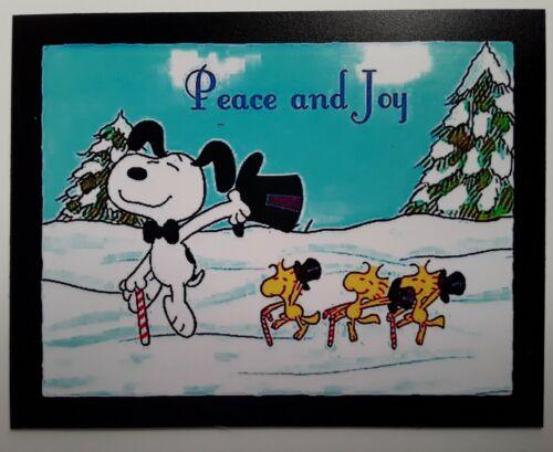 Peanuts ◇ Snoopy /& Charlie Brown ♡ PEACE /& JOY ♡  Magnet