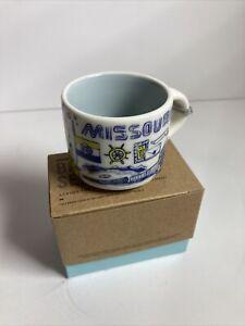 MISSOURI Starbucks BEEN THERE Series Mini Mug Ornament 2 oz