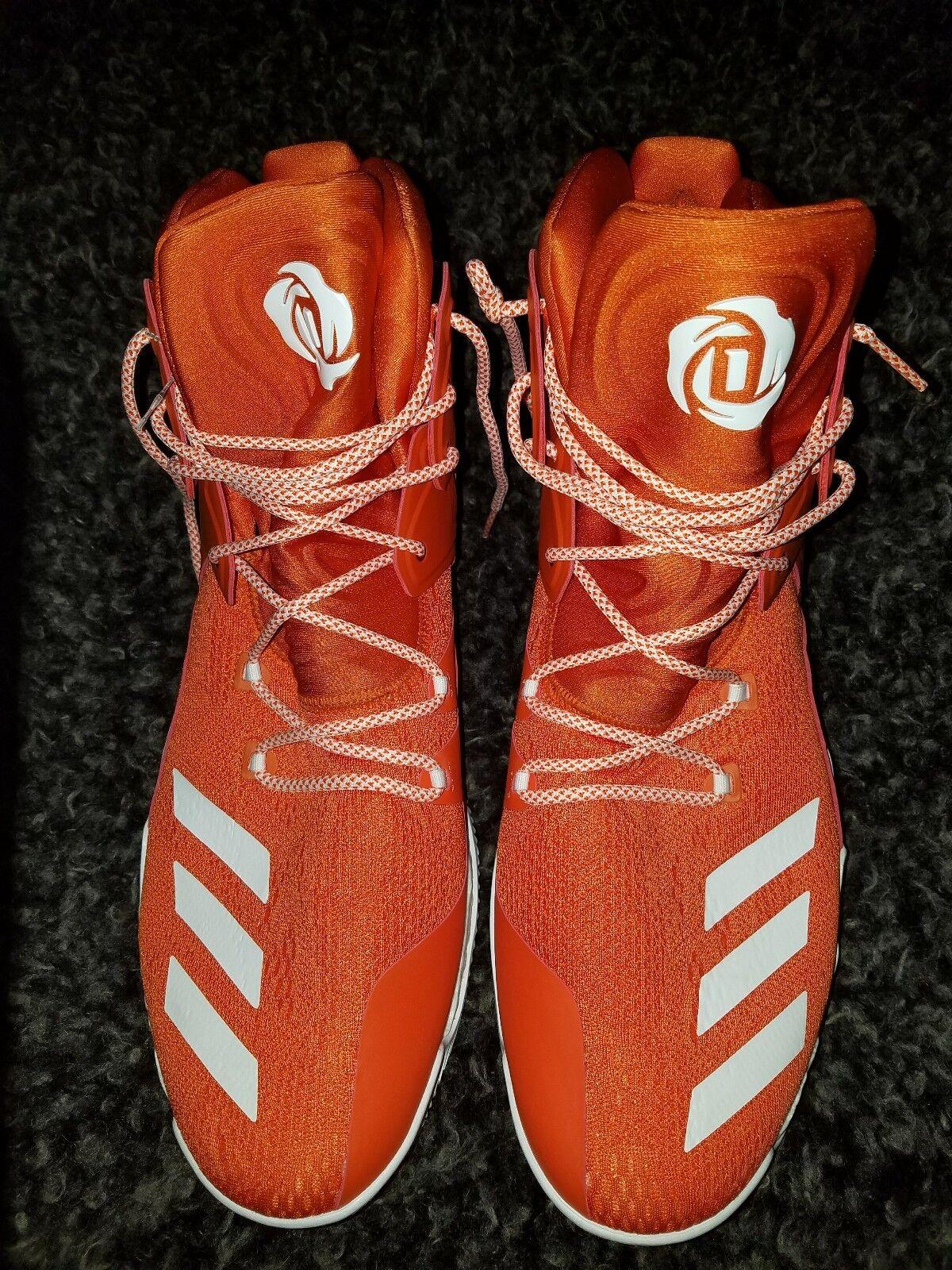 Adidas sm e rose 7 nba orange; weiß - mens - größe.