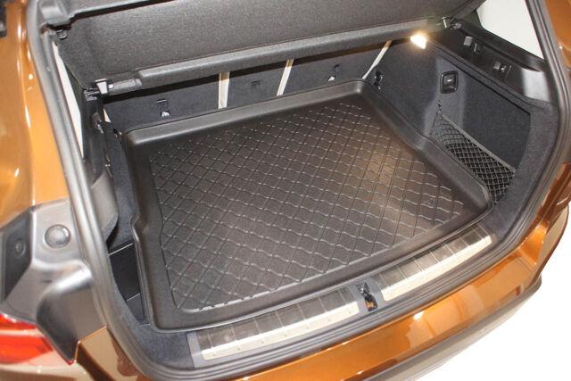 verstellbaren Rücksitzen Antirutsch Kofferraumwanne Laderaumwanne BMW X1 F48