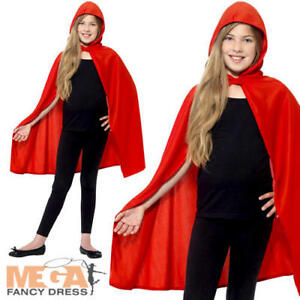 À Capuche Cape Rouge Manteau Kids Fancy Dress Livre Jour Garçons Filles Costume Halloween-afficher le titre d`origine LI7XswFT-07153645-164883834