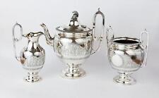 Fine ANCIENT GREEK REVIVAL Silver Plated TEA SET c1930 MARTIN HALL & CO