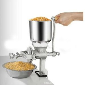 Hot-Cast-Iron-Mill-Grinder-Hand-Crank-Manual-Grains-Corn-Wheat-Coffee-Nuts-Tool