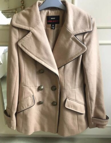 pour classiquetaille Sixty de femme Camelstyle laine Miss militairemélange petite Manteau 7fby6g