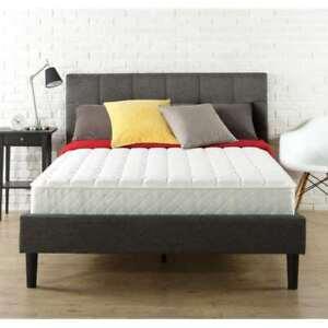 Slumber 1 8 Inch Spring Mattress In A Box Queen Size Ebay