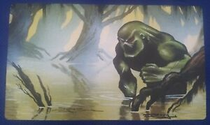 FORCE OF NATURE Play Mat MTG SIGNED by Douglas Schuler OFFICIAL WotC Magic