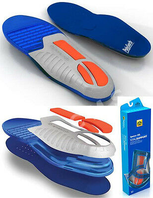 SPENCO POLYSORB TOTAL SUPPORT GEL Insoles Orthotic Arch Supports Inserts 46-300