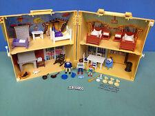 (M300) playmobil maison transportable ref 4145